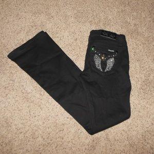 NWT Miss Me Chole Boot Black Jeans 27 x 34